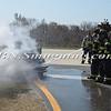 Wantagh F D  Car Fire Jones Beach E-B Bay Drive west of Field 10 4-28-13-11