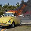 Wantagh F D  Car Fire Jones Beach E-B Bay Drive west of Field 10 4-28-13-6