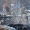 Wantagh F D  Car Fire Merrick Rd  and Beech St  7-17-13-14