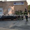 Wantagh F D  Car Fire Merrick Rd  and Beech St  7-17-13-17
