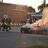 Wantagh F D  Car Fire Merrick Rd  and Beech St  7-17-13-8