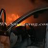 Wantagh F D Car Fire NB Sob at SS Pkwy-18