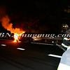 Wantagh F D Car Fire NB Sob at SS Pkwy-13