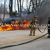 Wantagh F D  Car Fire N-B Wantagh Pkwy at Merrick Rd  3-23-13-5