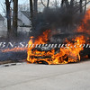 Wantagh F D  Car Fire N-B Wantagh Pkwy at Merrick Rd  3-23-13-9