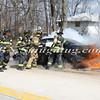 Wantagh F D  Car Fire N-B Wantagh Pkwy at Merrick Rd  3-23-13-14