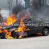 Wantagh F D  Car Fire N-B Wantagh Pkwy at Merrick Rd  3-23-13-7