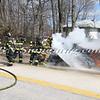 Wantagh F D  Car Fire N-B Wantagh Pkwy at Merrick Rd  3-23-13-17