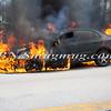 Wantagh F D  Car Fire N-B Wantagh Pkwy at Merrick Rd  3-23-13-10