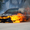 Wantagh F D  Car Fire N-B Wantagh Pkwy at Merrick Rd  3-23-13-3