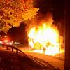 Wantagh F D  Car fire EB Sunrise Highway cs Brookside Avenue 11-5-2013