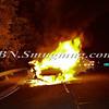 Wantagh F D  Car fire E-B Sunrise Highway c-s Brookside Avenue 11-5-2013--7