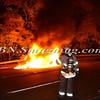 Wantagh F D  Car fire E-B Sunrise Highway c-s Brookside Avenue 11-5-2013--8