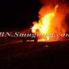 Wantagh F D Car fire NB wantagh pkwy No SS Pkwy 1-13-14-3