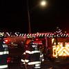 Wantagh F D  Garbage Truck Fire I-F-O 3434 Sunrise Hwy 1-8-15-17