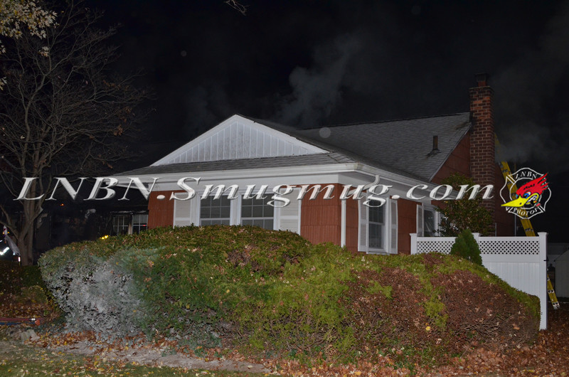 Wantagh F D  House Fire 1241 Barberry Rd 11-11-13-1