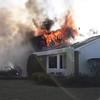 Garden City Park 3rd Alarm House Fire