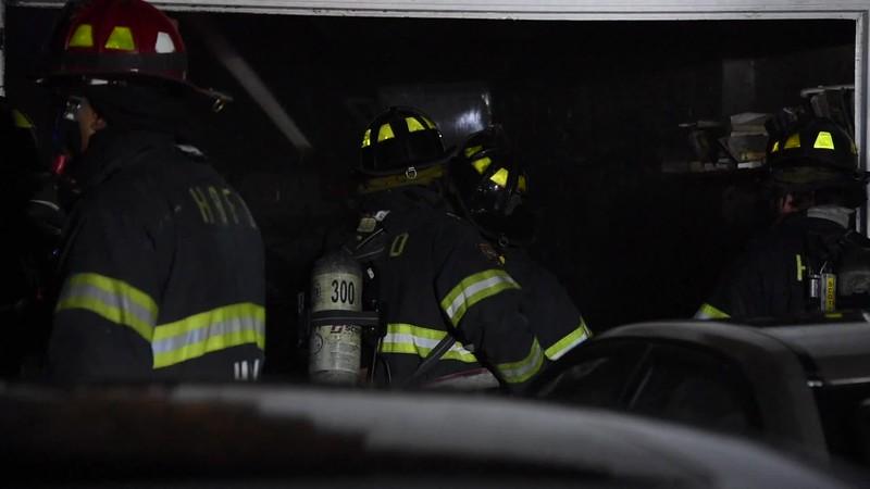 Hewlett House Fire