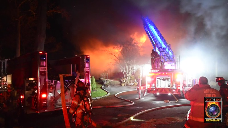 Bayville House Fire (Watermark)