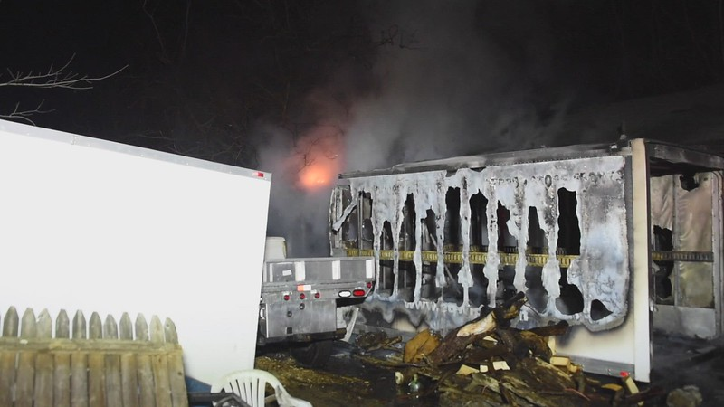 Glen Cove Structure Fire 03/14/2021