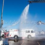 Atlantic Steamer Fire Company No. 1 Wetdown of Rescue 555