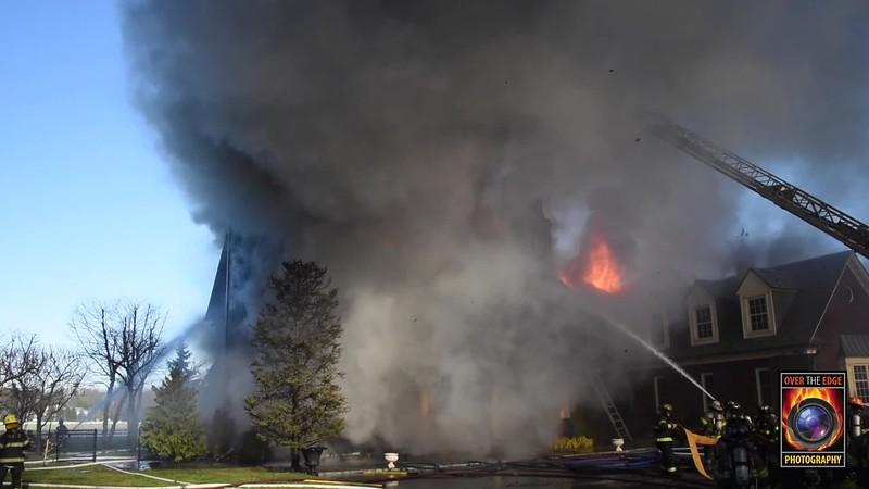Roslyn 4th Alarm House Fire 12/07/2019