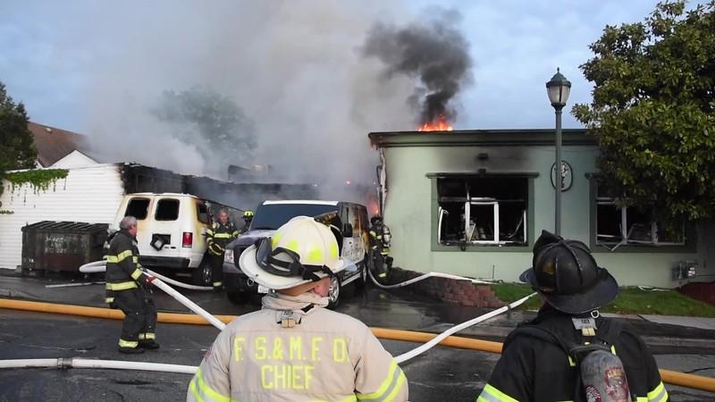 Franklin Square & Munson Building Fire 05/17/2020