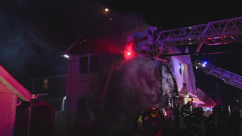 Franklin Square & Munson House Fire 01/28/2021
