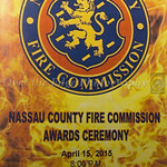 Nassau County Fire Commission Awards Ceremony 04/15/15