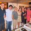 Dudu, eu, Roberto Menescal, Maria, Adriana, Yara e Ingrid (que nos deu um lindo presente na forma deste jantar com a familia Menescal)