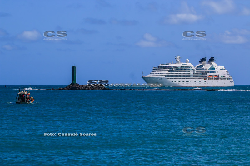 Navio Cruzeiro Seabourn Quest