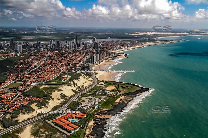 Via Costeira, Mãe Luiza e praia de Areia Preta