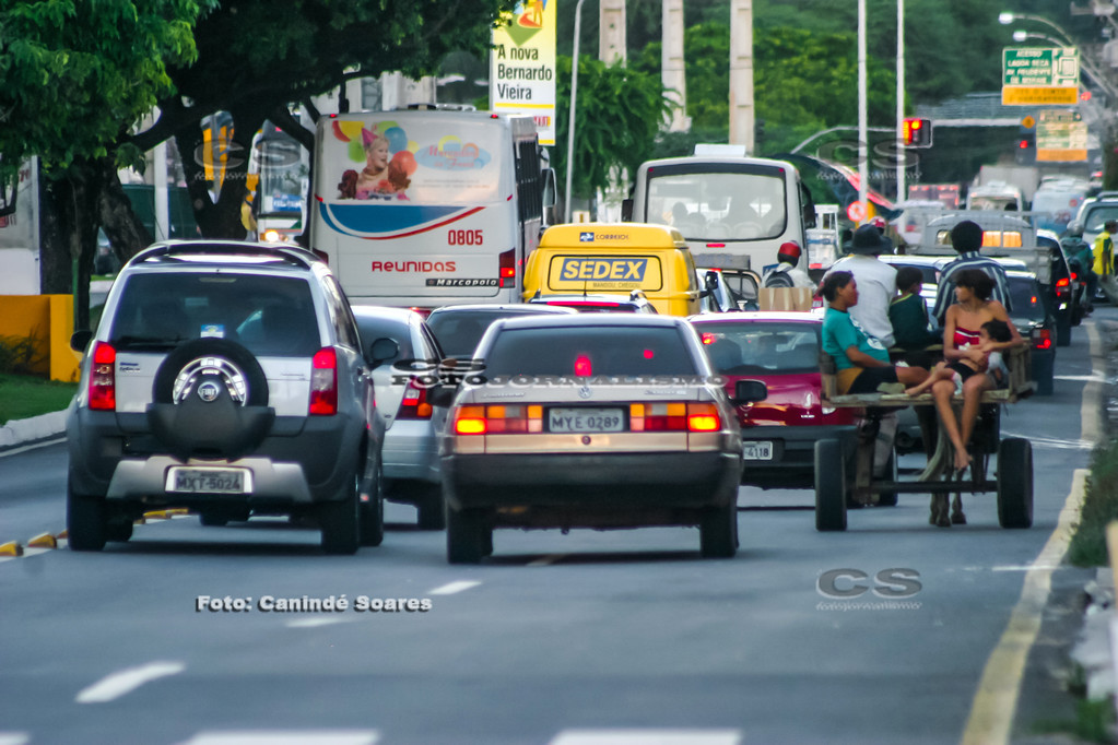 Trânsito urbano