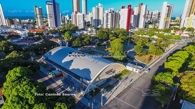 Palácio dos Esportes e Praça Cívica