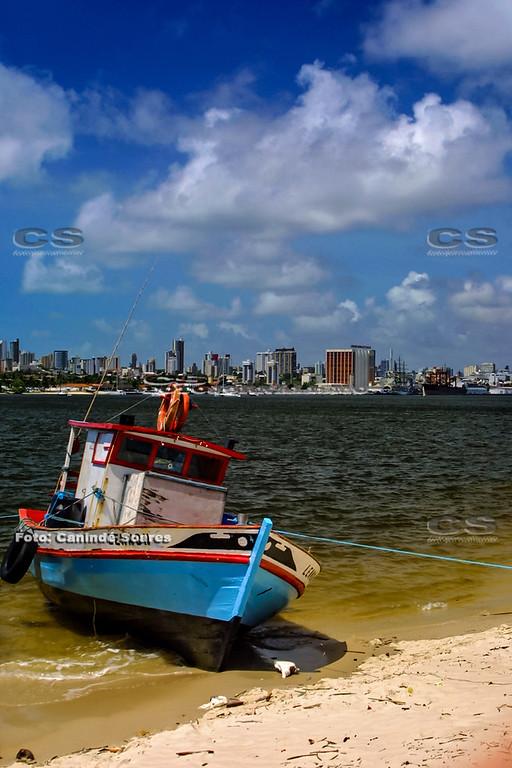 Barco no Rio Potengi