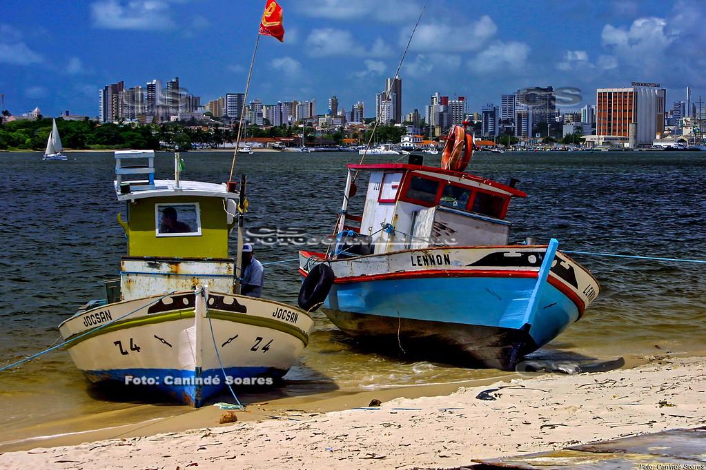 Barcos no Rio Potengi