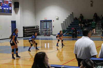Natalia JV volleyball vs Cole 092817