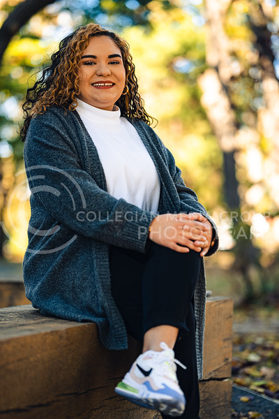 Natalia Rodriguez, Human Resources Management Major, Spanish Minor at Kansas State University is Involved in the Hispanic American Leadership Organization and the Student Government Association. October 29, 2020. (Dylan Connell | Collegian Media Group)