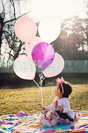 Natalie's First Birthday