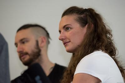 Conférence de presse de Lausanne