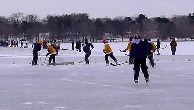 Pond Hockey Movies - Jan. 2012