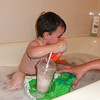bath time<br /> check out the milkshake on the float<br /> compliments of Auntie Robin