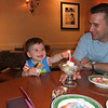 My 1st Birthday.<br /> Dinner at Olive Garden.