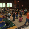 play group on Friday May 27th<br /> Nate is standing in the middle taking it all in