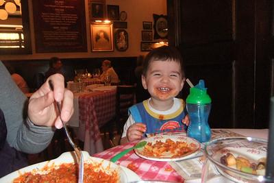 Mommy's Birthday dinner. Yummy!