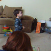 Dancing to the Wii game