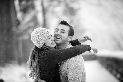 Natelee & Tim Winter Engagement