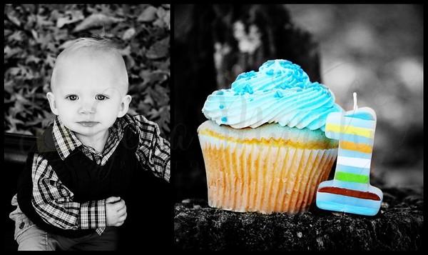 Nathan Patrick- 1st Birthday