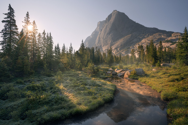 """Mountain Morning"""