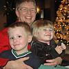 Nathan, Grandma, Mara - Brewis Family Dinner